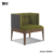 New Design Corner Armchair Sofa Hotel Room Chair Sofa With Good Price Wendy