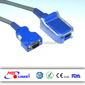 Compatible Doc-10 Nellcor Oximax Spo2 Adapter Cable And Extension ...