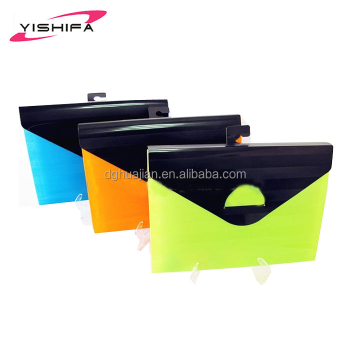 China supplier plastic stationery 13 pocket expanding file for school and office