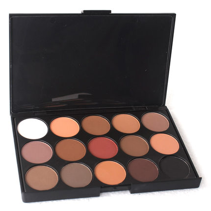 15 kleuren Make Up Shadow Palet Verpakking Private Label