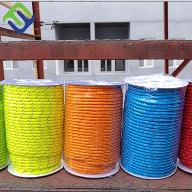 Multifunctional braided nylon rope reflective nylon rope