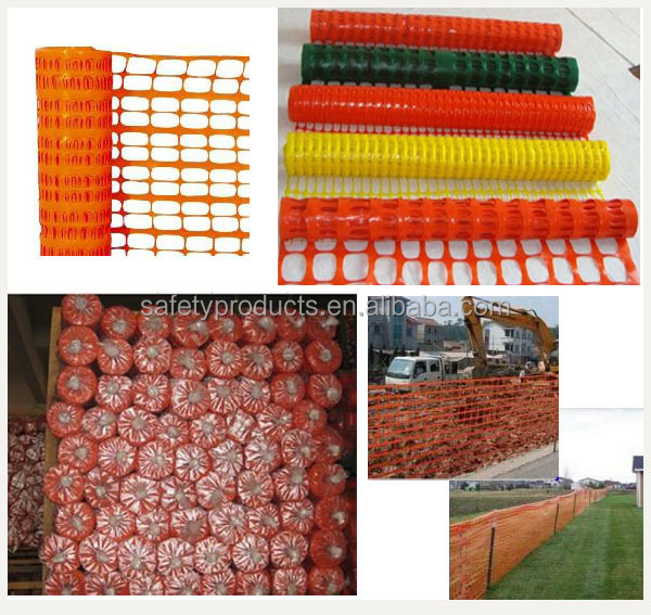 Outdoor orange plastic industrial safety fence buy