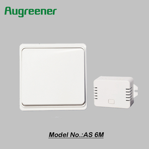 Augreener CE ROHS approved wireless electric new design smart wall switch socket