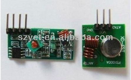 rf wireless transmitter and receiver module