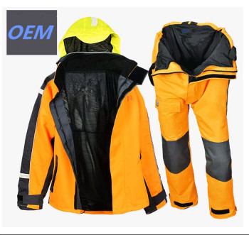 windbreaker sailing rain suits bib pants trousers