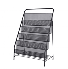Freestanding Magazine Organizer Rack Giornale <span class=keywords><strong>Brochure</strong></span> Display Stand Rack Comic Book Shelf