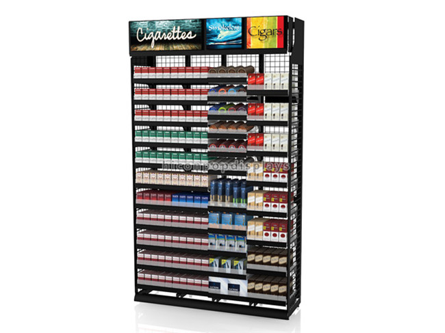 Free Design Mdf Multi-Layers Tabacco Store Advertising Convenience Store Retail Cigarette Display