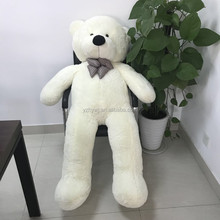 Stuffed teddy bear or teddy bear skin 160cm giant teddy bear