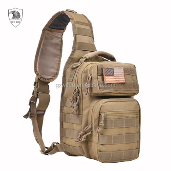 Waterproof Tactical Women Sling Bag Men Chest Army Military Shoulder Backpack Everyday Carry Day Pack For Sport View