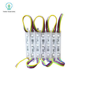 Hot Sale Waterproof CE Rohs DC12V 3 Chips RGB PCB SMD 5050 Led Modules Indoor Outdoor led module sign for light box