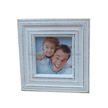Baby first year dressed wooden photo frame made in china