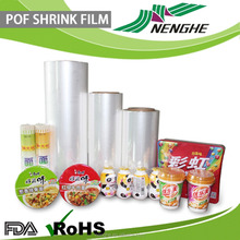 Blow Molding Processing Type transparent packaging film pof shrink film