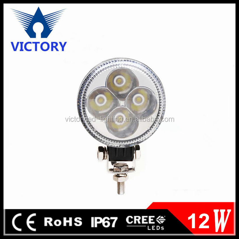 12W IP67 best Chip high bright LED Work Light for komatsu