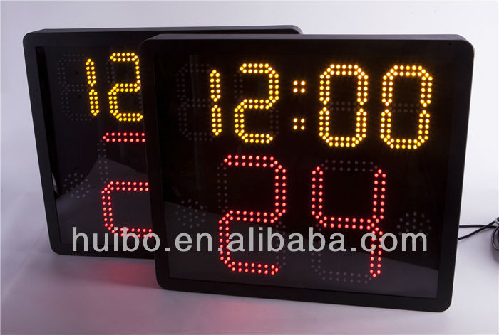 led wireless basketball shot clocks and controller