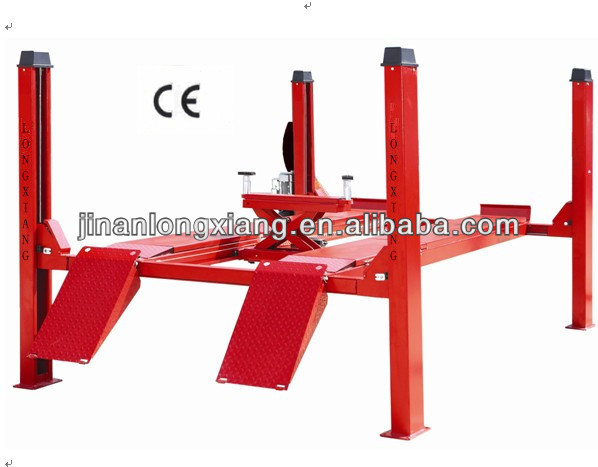 high rise four post car lift ground mounting car hoist