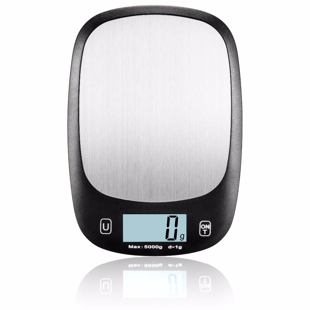 EK6021 Weight Machine Digital Weight Key Sensitive Kitchen/Lab Scale With Multi-Function Back-Lit LCD Display