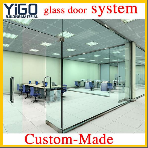 Glass Door Shop Front Aluminum Frame Glass Double Entry Door Buy