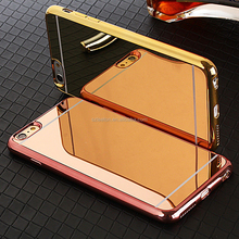 "High quality mirror phone case for 4-6"" mobile phones"