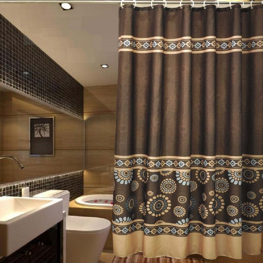 Cheap Brown Blue Shower Curtain Find Brown Blue Shower Curtain
