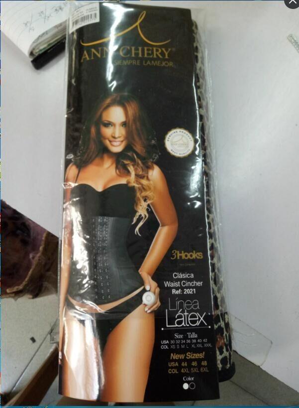 e3f45b40199 high quality latex hook 2021 ann cherry waist trainer latex waist cincher  wholesale