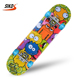 New product 2017 31inch streeting skateboarding kids skateboard LED wheels