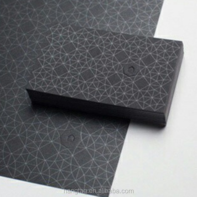 Custom Printing Matte Black Paper Business Card