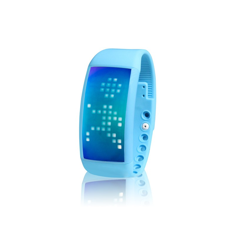 3D pedometer smart bracelet led usb watch fitness tracker ,smart bracelet W4