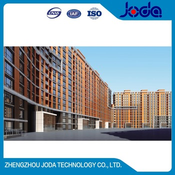 Professional Maufacture Innovative Facade Design And Engineering Supporting Curtain Wall