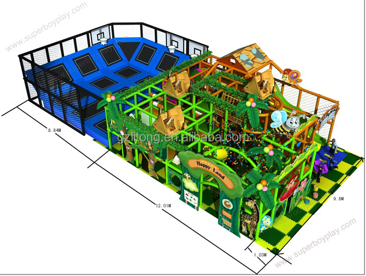 Diy Creativity For <strong>Kids</strong> Used Commercial Indoor Playground Equipment Sale 155-8b