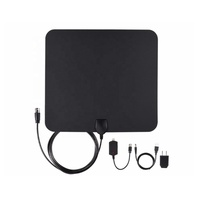 Hot selling Flat HD Indoor Digital TV Antenna Amplified TV Antenna - 50 Miles Range Antenna for TV