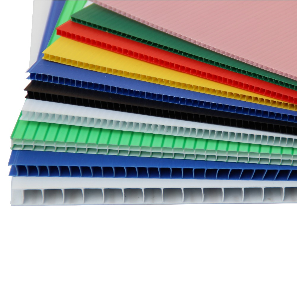 Pp Hollow Coroplast Corrugated Plastic Panels