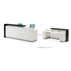 China supplier Simple design cheap reception desk FOH-RD-AM1207