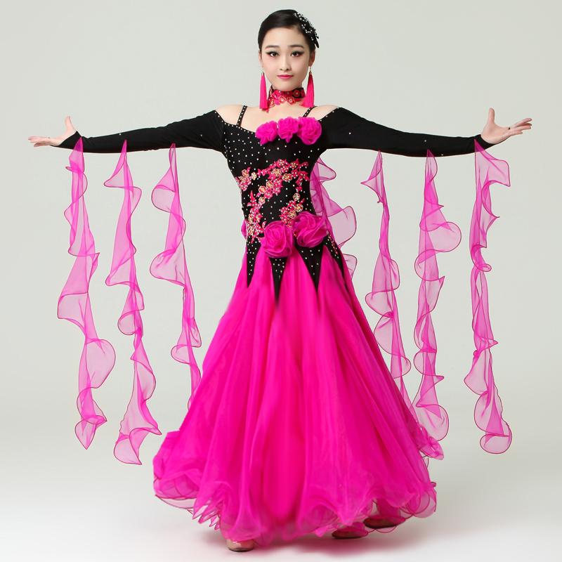 2016 standard ballroom dress women ballroom dance ...