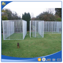 China supply Large outdoor dog cages / welded wire dog kennel / pet enclosure