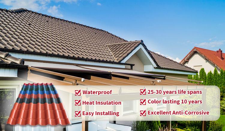 Resistenza agli agenti atmosferici a buon mercato coperture herpes zoster ASA coperture foglio di plastica resina sintetica
