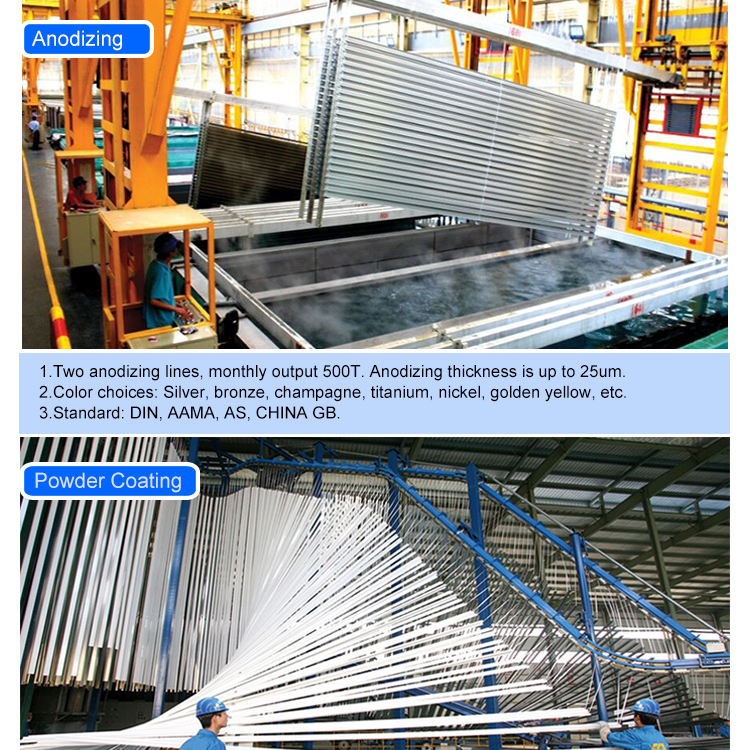 2018 New Profile Extrusion Aluminium Louvres