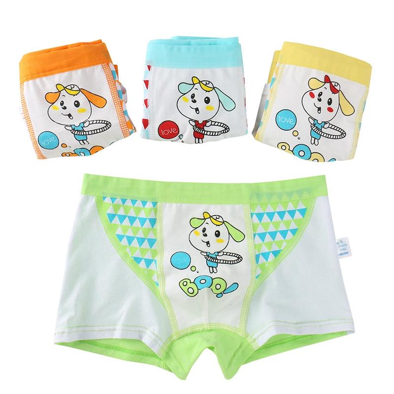 New Arrival 2pcs lot Children Underpants Kids Underwear Cartoon Boys Boxer Briefs Breathable Shorts Knickers Boy