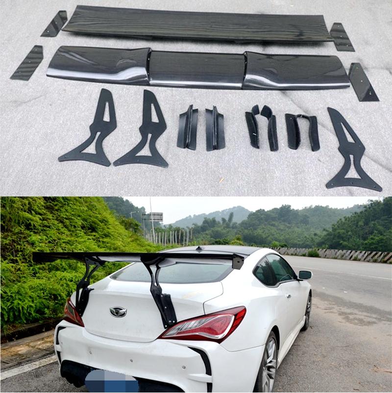 2009-2012 Hyundai Genesis Coupe Bumper Foam Impact Absorber Rear OEM 09-12