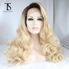Wholesale synthetic wigs with transparent lace for black women