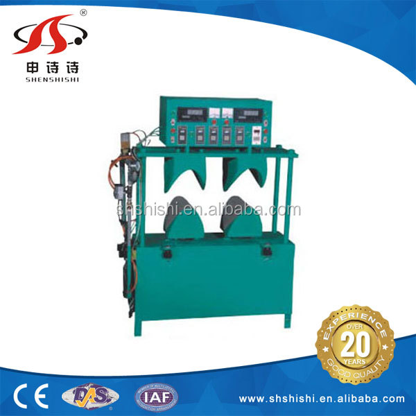 Manufacturer suits pads molding SSJD-168 heat-setting auto shoulder pad machine