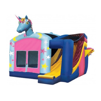 212774955 Hot-selling Safe Child Inflatable Trampoline Unicorn Teapot ...