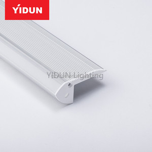 YIDUN YPR6628-1 Angle 45 degree led strip aluminum profile ,led strip profile for led lighting