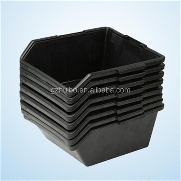 ESD <strong>Black</strong> Bin For Anti-static Package And Carriage / Conductive Container