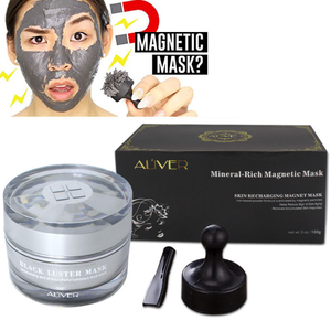Magnet mask Moisturizing and repairing Deep cleansing of pores and oils Magnet mask