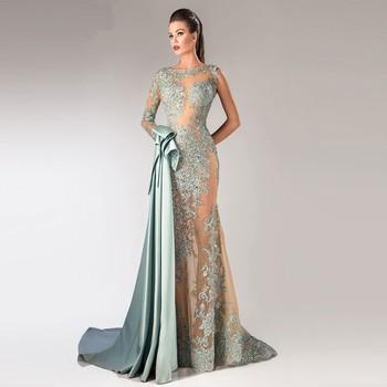 Htj13 Más Nuevo Diseño Dubai Señora Maxi Vestidos Fiesta Venta Al Por Mayor De Moda Hombro Ver A Través De Noche Azul Vestidos De China Buy Vestidos