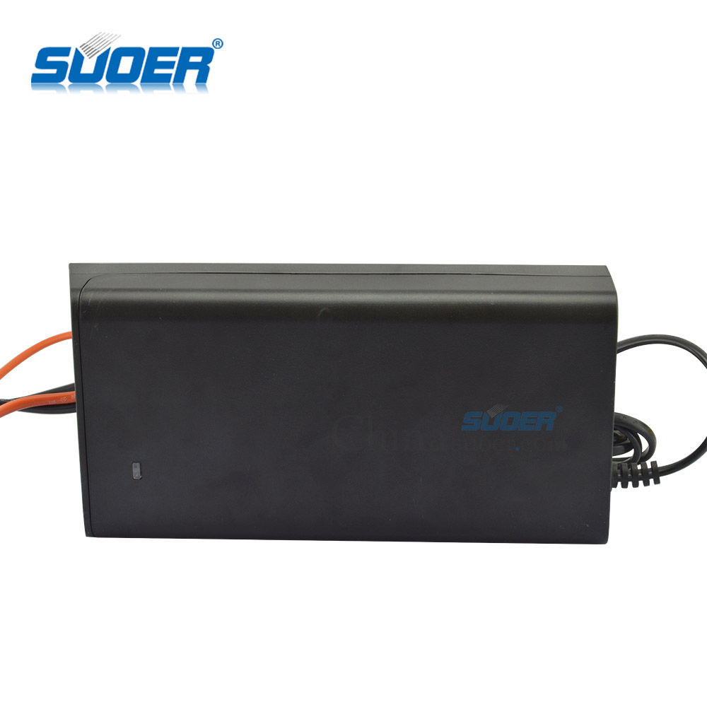 Suoer 12V Lead-Acid gel Battery charger 20A Solar Car Battery Charger
