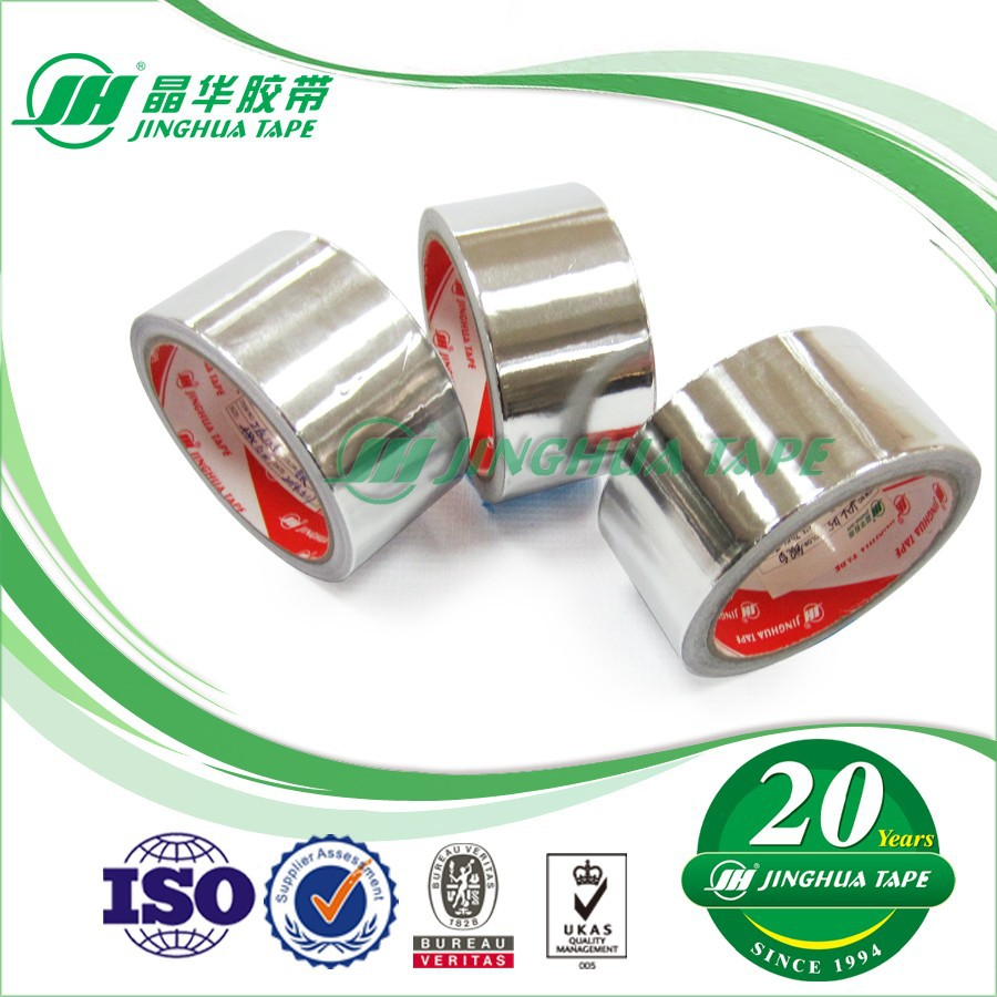 JAL135 Pressure-Sensitive Glue Good Matching With Round Corner Aluminum Adhesive Tape