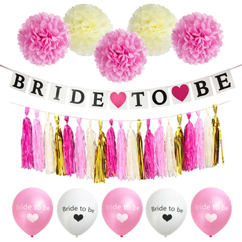 Bride to be banner team bride balloon wedding supplies bridal shower bride to be banner team bride balloon wedding supplies bridal shower decorations junglespirit Image collections