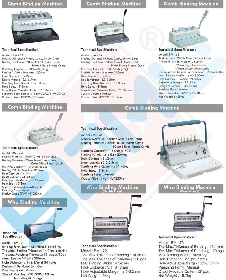 Comb Binding Machines - Buy Binding Machine Comb Binding Machine Book  Binding Machine Product on Alibaba com