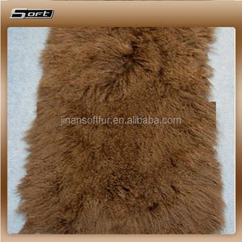 China Mongolian Sheep Goat Skin Low Prices Fur Rugs